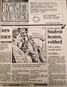 Doug Assault Newspaper